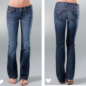 7 for all mankind Flynt bootcut  jeans sz 32